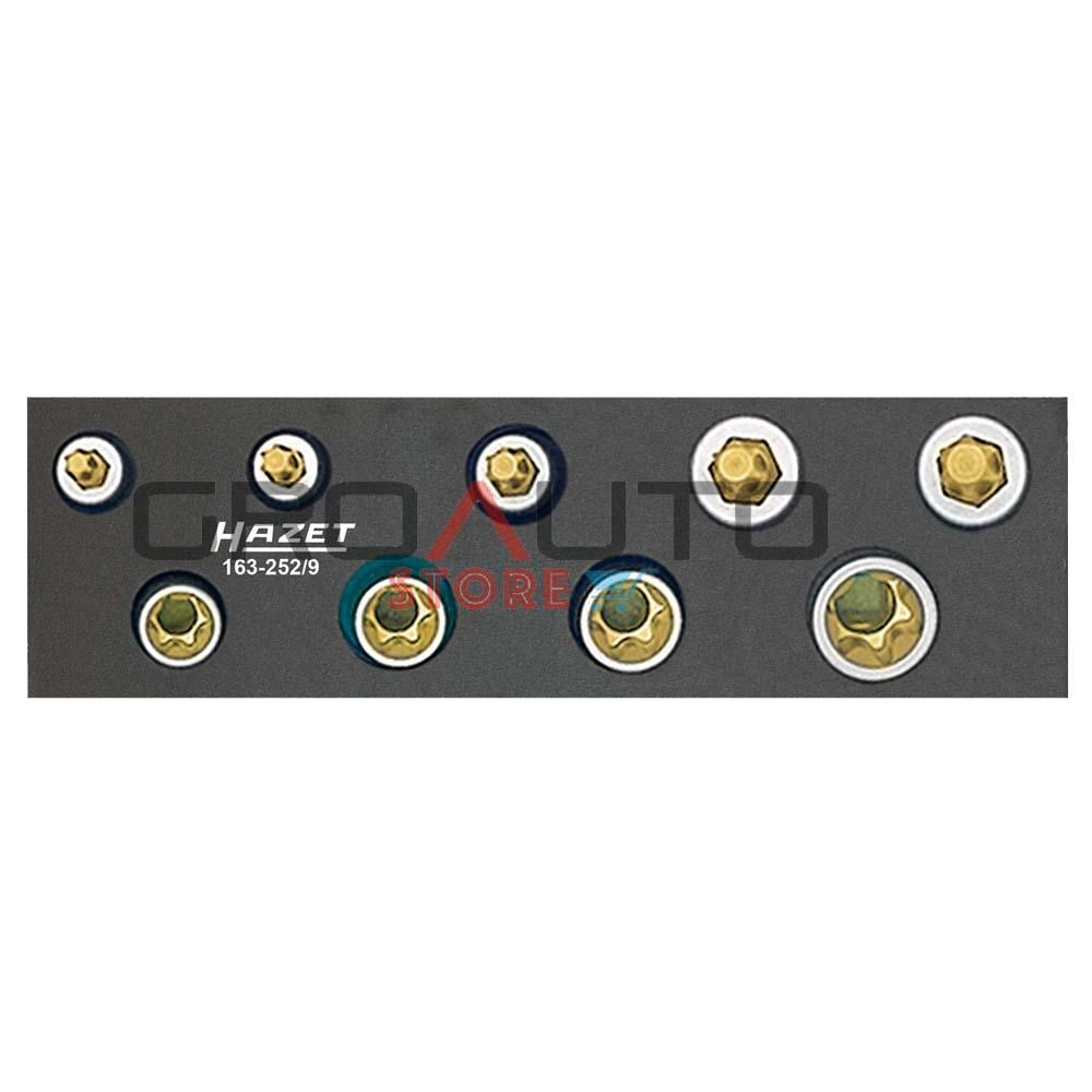 12 pt Hazet 163-99//18 Combination wrench set